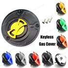 Keyless Engraved Twist Off Gas Fuel Tank Cap For Ducati Monster 600 750 900 1000