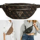 LEEZA Logo-Print Belt Bag Waist Purse Convertible Crossbody Handbag NWT SG455780