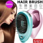Portable Electric Ionic Hairbrush Styling Vibration Hair Brush Comb Massager