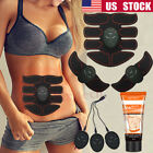 4 In 1 USB Rechargable Fitness Abdominal Muscle Training ABS Stimulator Toner US image