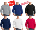 Hanes Mens Beefy-T T-Shirt with Pocket 6.1 oz 100% Cotton Tagless Tee S-3XL image