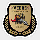Vegas Golden Knights sticker for skateboard luggage laptop tumblers car (f) $5.99 USD on eBay
