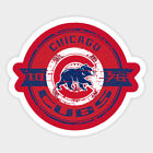 Chicago Cubs sticker for skateboard luggage laptop tumblers (d) on Ebay