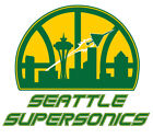 Seattle Supersonics  Vinyl sticker for skateboard luggage laptop tumblers car on eBay