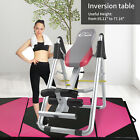 Home Use Inversion Table For Back Pain Relief Therapy Fitness Exercise Foldable image