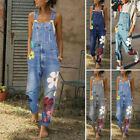 Fashion Women Denim Jeans BIB Pants Overalls Straps Jumpsuit Rompers Trousers