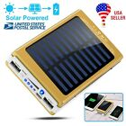 Solar Charger Power 20000mAh Outdoor Portable Charger Solar Power Bank Dual USB