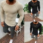 Men's Slim Fit Pullover Sweater Basic Knitted Lightweight Crew Neck Sweater GIFT