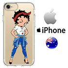 Case Cover Silicone Retro casual Betty Boop Iconic cartoon sexy bad ass denim $13.95 AUD on eBay
