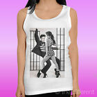"TANK TOP WOMEN'S T-SHIRT "" ELVIS PRESLEY JENNIFER LOPEZ DANCE MUSIC ""GIFT IDEA"