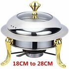 1 Pc Golden stainless steel alcohol stove household commercial Removable small c