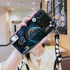 New Fashion Camera Wristband Bracket Lanyard Girl Case Cover For Various Phones