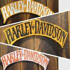 Patch Iron-On or Sew-On Harley-Davidson Logo Motorcycle Logo Letters Applique $6.0 USD on eBay