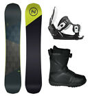 Nidecker MERC 156 Men's Snowboard+Flow Bindings+Flow BOA Boots NEW