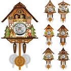 Cuckoo Wall Clock Swing Timer Woodenboard Clock Office Home Decor High Quality