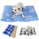 Soft Dog Bed Cover Set Fleece Puppy Sleeping Cushion Mat Cage Mattress Kennel