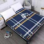 1 Pc Printing Bed Cover Waterproof Mattress Protector Pad Fitted Sheet Separated