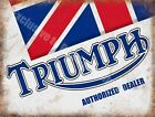 Triumph Classic Garage Motorcycle Dealer Motorbike  Metal/Steel Wall Sign £6.29 GBP on eBay