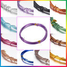 Aluminium Craft Wire 24 Colours Top Quality 10mtr Jewellery 0.8mm 1mm Florist