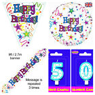 Stars Birthday Party Kit Boy's Ultimate party supplies age 1 to 100 Invites Inc