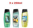 AVON X 3 Senses For Men Shower Gel,Mixed Set, 250ML.Each,New,Gift Set