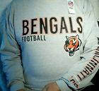 New NFL Licensed  NFL Cincinnati Bengals  Long Sleeve Tee Shirt XLT and 4X $19.99 USD on eBay