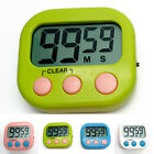 Large- LCD Digital Kitchen Egg Cooking Timer Count Down Clock Alarm Stopwatch UK