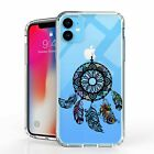 """For iPhone 11 6.1"""" Hybrid  Bumper Shockproof Case Featherly Dream catcher"""