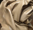 WS10 Leather Cow Hide Cowhide Upholstery Craft Fabric Umber Brown