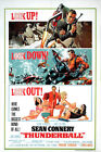 Thunderball James Bond Poster Reprint/Home Decor/Wall Decor/Wall Art $29.95 AUD on eBay
