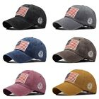 Baseball Cap Mens Tactical Army Cotton Military Dad Hat Usa American Flag Us