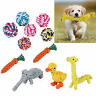 Pet Dog Puppy Chew Toy Braided Rope Giraffe Indestructible Teeth Dental Cleaning