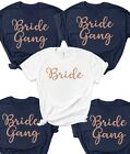 Hen Party T Shirts BM4 Bride To Be Bridesmaid Brides Squad Hen Do Wife Gang Tees