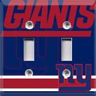 Football New York Giants Themed  Light Switch Cover Plate ~ Choose Your Cover $10.99 USD on eBay