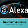 More images of 5,000 Real Visitors ALEXA Toolbar website traffic 100% Adsense Safe
