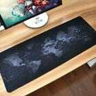 Gaming Mouse Pad Extra Large Mousepad Anti-slip Desk Keyboard Mat w/Locking Edge
