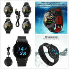 Bluetooth Smart Watch With Heart Rate Monitor Fitness Sports Waterproof 1.3Inch