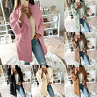 Women Fleece Jackets Fashion Hooded Long Sleeve Soft Full Zip Fleece Coat GIFT