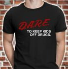 DARE Shirt | retro D.A.R.E. shirt | 90s vintage style dare t shirt FREE SHIPPING image