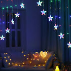 LED Five-pointed Star String Fairy Lights 3 Meter Curtain Light 220V Lighting
