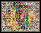 Chicago Blackhawks Mosaic Print Art Created Using Past and Present Player Photos $35.0 USD on eBay