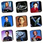 Deep Space Nine DSN - Star Trek - Coasters - Ships - Wooden Coasters - Multi-Buy on eBay