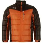 Everlast Mens Orange Brown Himalayan Extreme Padded Jacket