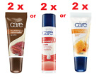2 x Avon Care Lip Balm Skin Recovery 4.5g or royal Jelly SPF 15 10ml New