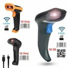 2.4GHz Wireless&USB2.0 Wired Rechargeable Automatic Barcode Scanner Laser Handle