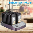 16 Call Restaurant Pager Guest Keypad Wireless Calling Paging Queuing System New