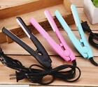 Professional Mini Travel Hair Straightener Flat Iron Perm Splint Hair TooODFS $7.67 USD on eBay