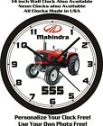 MAHINDRA 555 DI POWER TRACTOR WALL CLOCK-FREE USA SHIP!