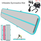10/13/16/20FT Airtrack Inflatable Air Track Gymnastics Tumbling Mat GYM +Pump image