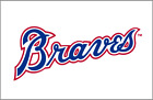 Atlanta Braves sticker for skateboard luggage laptop tumblers (a) on Ebay